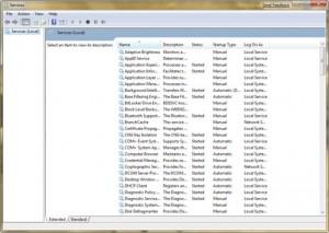 Microsoft Windows 7 Services uitschakelen